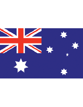 Outdoor Flag Australia (6) 3'x5' No Fringe