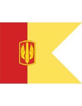 Army Guidon 6-11C Seperate Brigade Artillery  Specify Brigade
