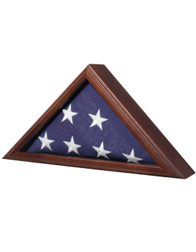 Capitol Flag Case Cherry for 3ft x 5ft Flag (FLAG CASE-06A)