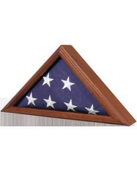FLAG CASE-06B CAPITOL FLAG CASE WALNUT FOR 3' X 5' FLAG