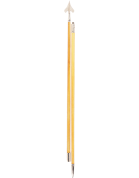 9 ft. 6 inch Government Spec Flag Pole with Spear and Ferrule Bottom