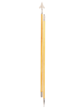 9' 6in Government Spec Flag Pole with Spear & Round Bottom
