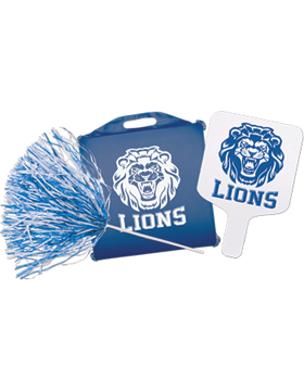 Fundraising Biggest Fan Package - School Spirit (Fan/Seat/Pom)