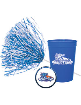 Fundraising Value Package - School Spirit (Button/Cup/Pom)