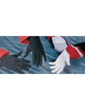 White Gloves with No Snap (G-101)