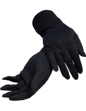 Black Long Sure Grip Gloves (G-207)