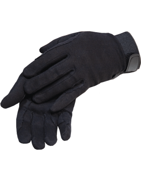 Black Deluxe Cotton with Fastener (Military)