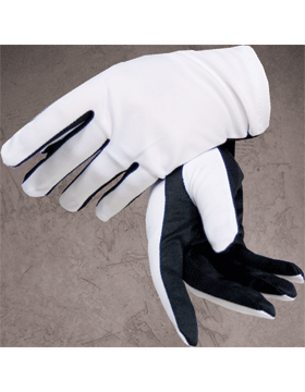 Flash Gloves (G-302C) Black and White