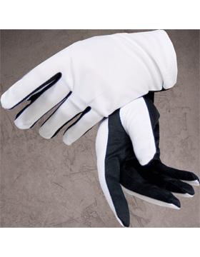Flash Gloves (G-302C) Black and White