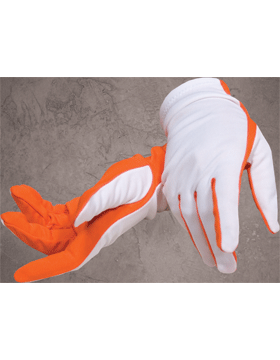 Flash Gloves (G-302I) Orange and White