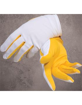 Flash Gloves (G-302J) Gold and White