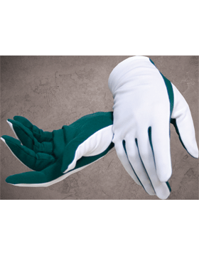 Flash Gloves (G-302M) Forest and White