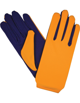 Flash Gloves (G-303B) Gold with Purple Palm
