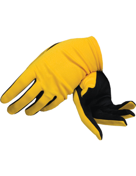 Flash Gloves (G-303C) Gold with Black Palm