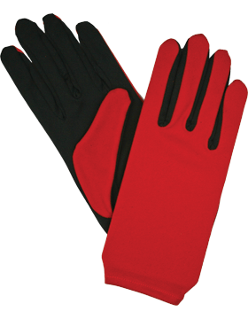 Flash Gloves (G-303M) Red and Black Palm