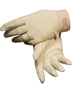Nude Deluxe Sure Grip Gloves with Fastener