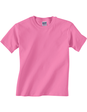 Gildan Heavy Cotton Youth T-Shirt G500B Azalea