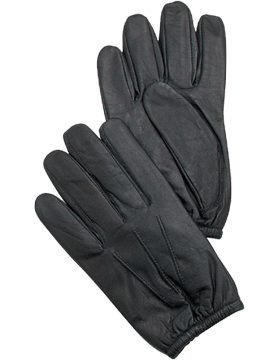 Rothco Police Kevlar Lined Gloves, Black