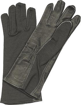 G.I. Type Nomex Flight Gloves Black