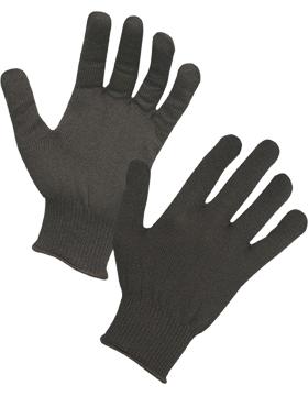 ThermaStat Knit Glove Liner One Size Black TK405