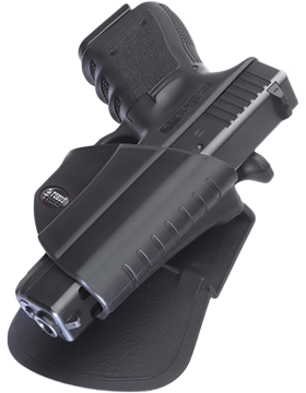 Fobus Level 2 Thumb Break Holster Paddle Glock 26/27/33