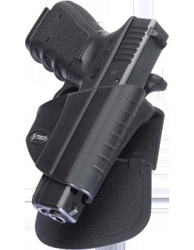 Fobus Level 2 Thumb Lever Holster Belt Glock 17/19/22/23/31/32/34/35