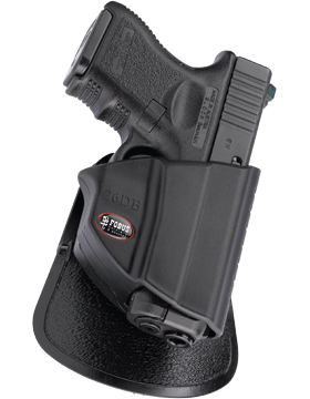 Fobus Level 2 Thumb Lever Holster Paddle Glock 17/19/22/23/31/32/34/35
