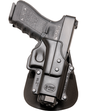 Fobus Level 2 Thumb Break Holster Paddle Glock 17/19/22/23/31/32/34/35