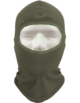 Polar Fleece One Hole Balaclava Foliage
