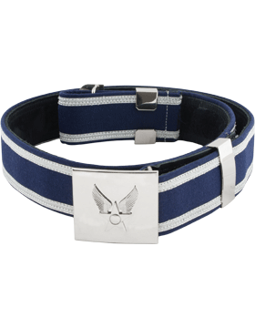 Honor Guard Enlisted Ceremonial Belt with Nickel Hap Arnold 34 inch