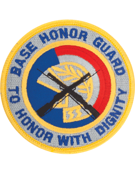 Base Honor Guard Full Color Patch