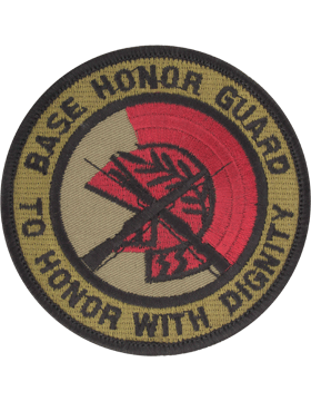 Base Honor Guard Subdued Patch