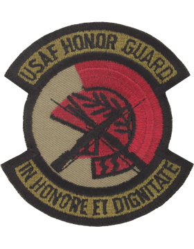 Honor Guard Subdued Patch