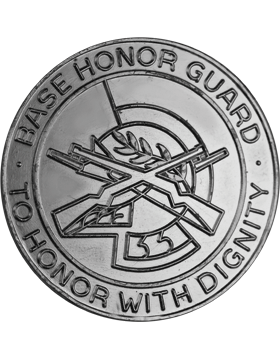 Base Honor Nickel Finish Badge