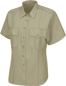 Men's Sentry S/S Shirt with Zipper HS1248