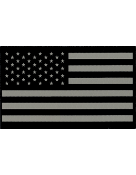 Infrared American Flag with Fastener Forward