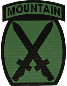 IR ACU Patch 010 Mountain Division IR-7003
