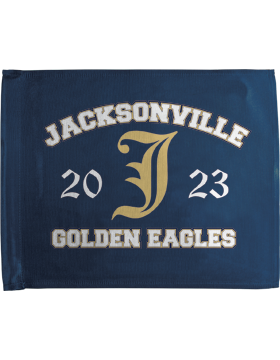 Jacksonville Eagles Car Flag