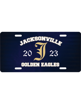 Jacksonville Eagles License Plate