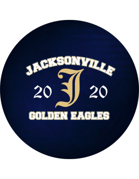 Jacksonville Eagles Magnet 4.5in