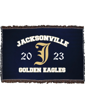 Jacksonville Eagles Throw Blanket, Large 38in x 54in