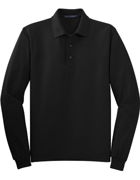 Port Authority-Long Sleeve Silk Touch Polo K500LS-201