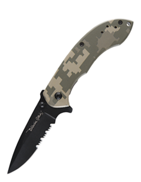 KNF-CKC-7002 Model Blackie Collins Quick Flick Camo Series