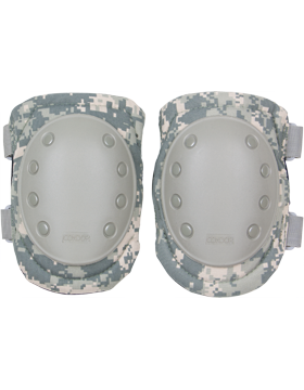 Knee Pad w/Foam and Plastic Cap, Hook and Loop Fastener