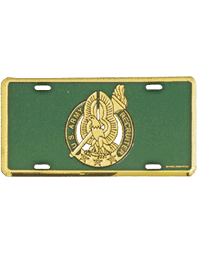 ARMY RETIRED  with Star Logo Military U.S Metal Novelty License Plate Sign