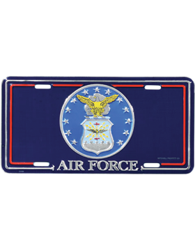 LAF02 U.S. Air Force Insignia License Plate