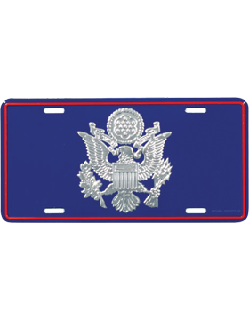 LAF03 USAF Officer Crest License Plate