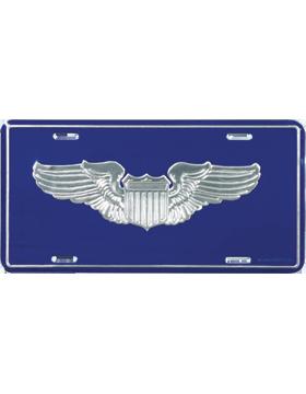LAF04 USAF Pilot License Plate