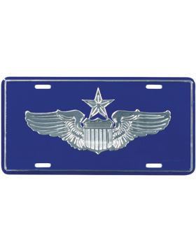 LAF05 USAF Senior Pilot License Plate