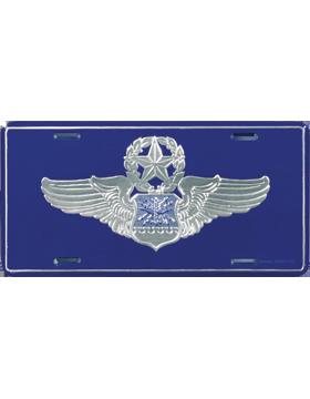 LAF07 USAF Master Navigator/Observer License Plate